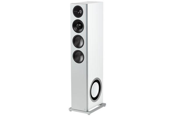 Large image of Definitive Technology Demand Series D15 Right Tower Speaker In Gloss White - 300026-03-00-005